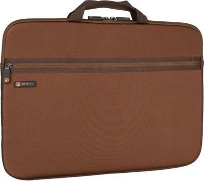 Protec Neoprene Laptop Sleeve - 17 inch - Chocolate