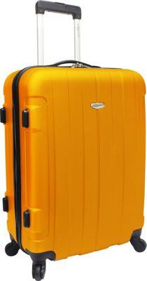 Traveler's Choice Rome 25 in. Hardside Spinner Upright Orange - Traveler's Choice Hardside Checked