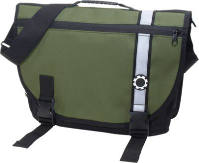DadGear Courier Retro Stripe Green - DadGear Diaper Bags & Accessories