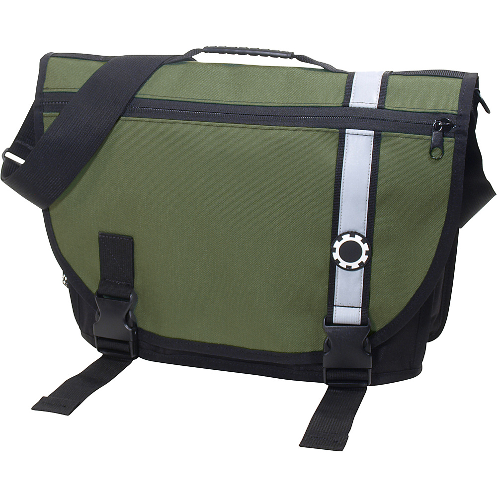 DadGear Courier Retro Stripe Green - DadGear Diaper Bags & Accessories - Handbags, Diaper Bags & Accessories