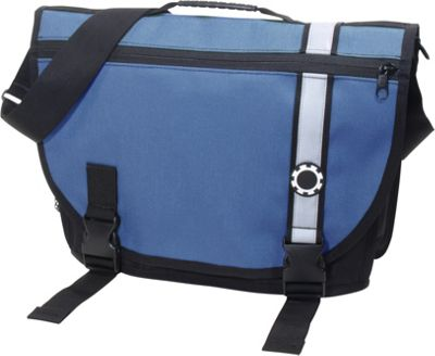 DadGear Courier Retro Stripe Blue - DadGear Diaper Bags & Accessories