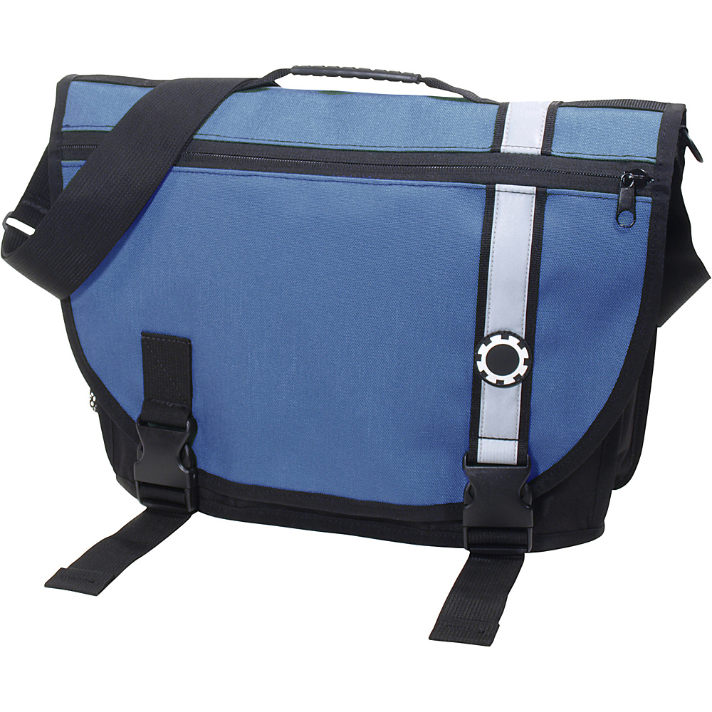 DadGear Courier Retro Stripe Blue - DadGear Diaper Bags & Accessories - Handbags, Diaper Bags & Accessories