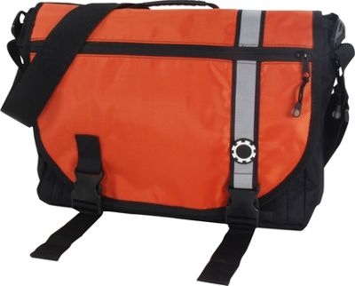 DadGear Courier Retro Stripe Orange - DadGear Diaper Bags & Accessories