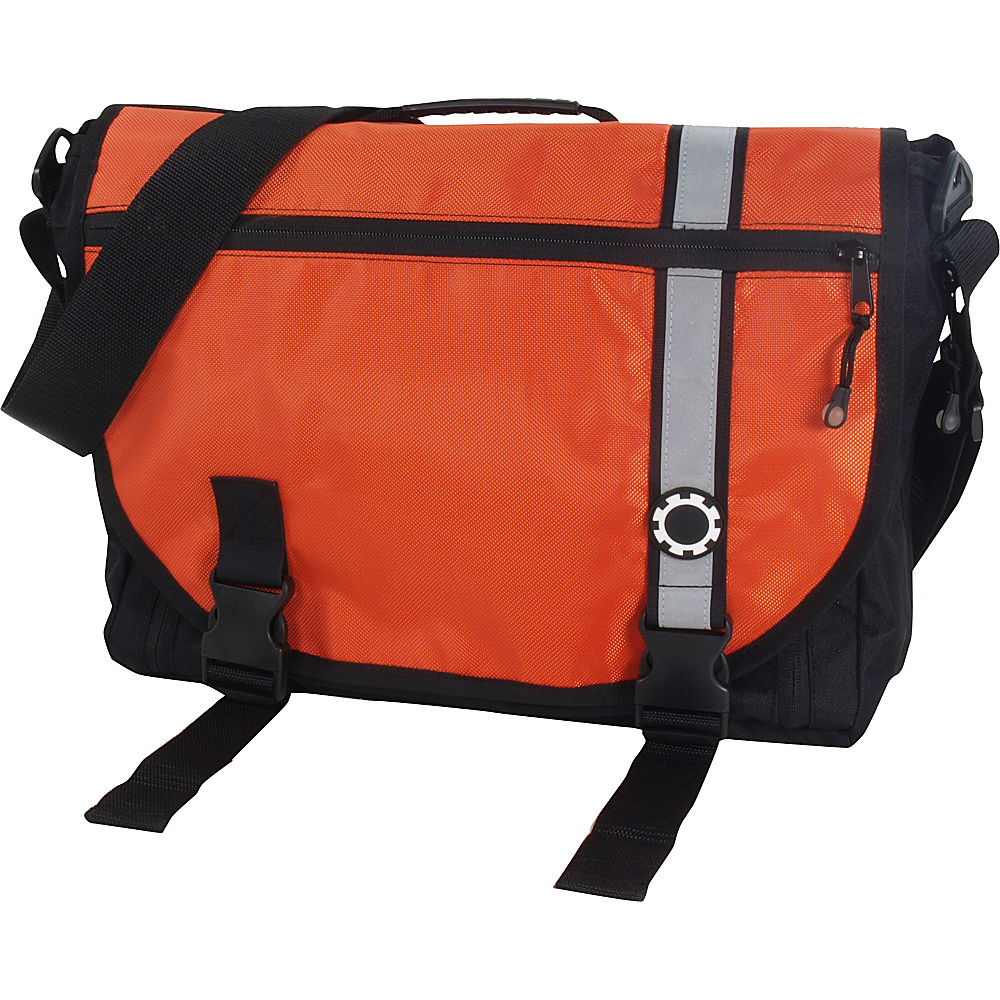 DadGear Courier Retro Stripe Orange - DadGear Diaper Bags & Accessories - Handbags, Diaper Bags & Accessories