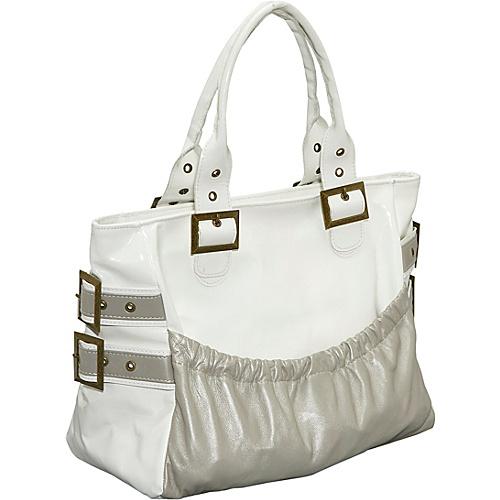 LaCroix Handbags Elita - White Patent