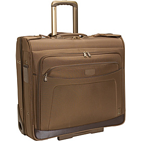 Crew 7 44'' Traditional Rolling Garment Bag - CLOSEOUT Chestnut