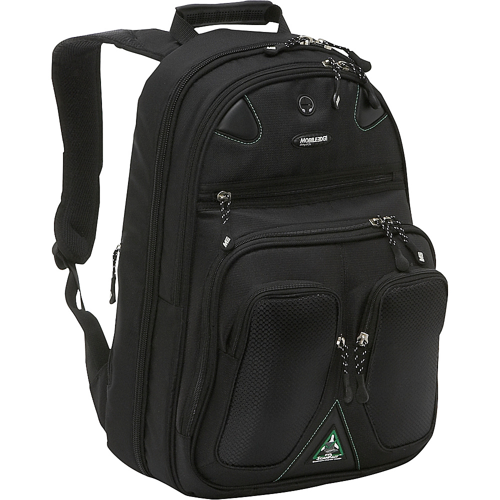 Mobile Edge ScanFast Checkpoint ECO Friendly Backpack 17.3 Black Mobile Edge Business Laptop Backpacks