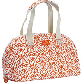 Margherite Insulated Satchel - Persimmon Floral Persimmon Floral