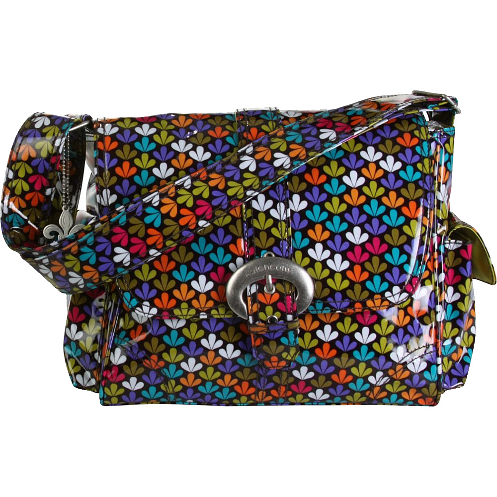 Kalencom Midi Coated Buckle Bag - Clover - Handbags, Diaper Bags & Accessories