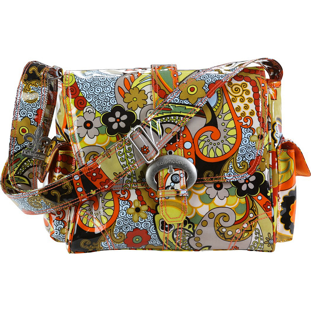 Kalencom Midi Coated Buckle Bag - Hannahs Paisley - Handbags, Diaper Bags & Accessories
