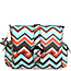 Chevron Stripes Coral