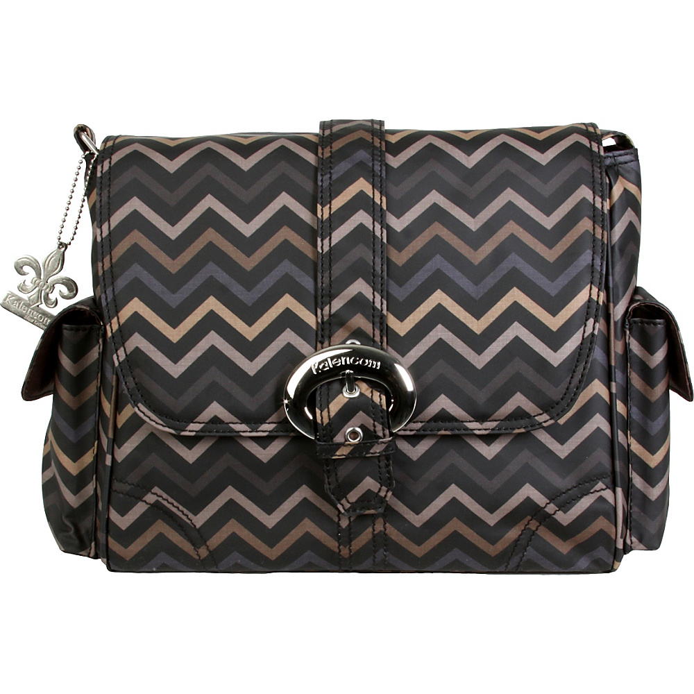 Kalencom Midi Coated Buckle Bag Mini Chevron Sahara Kalencom Diaper Bags Accessories