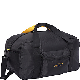 22''Carry-On Nylon Duffel Bag With Pouch Black