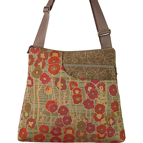 Maruca Design Worker Bee Crossbody Meadow Summer Fabric Handbags
