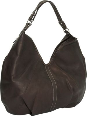 Piel Ladies Large Hobo - Chocolate