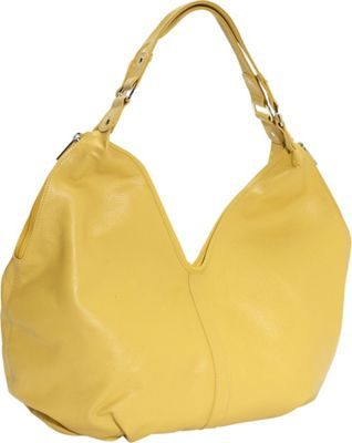 Piel Ladies Large Hobo - Yellow