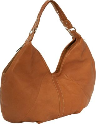 Piel Ladies Large Hobo - Saddle