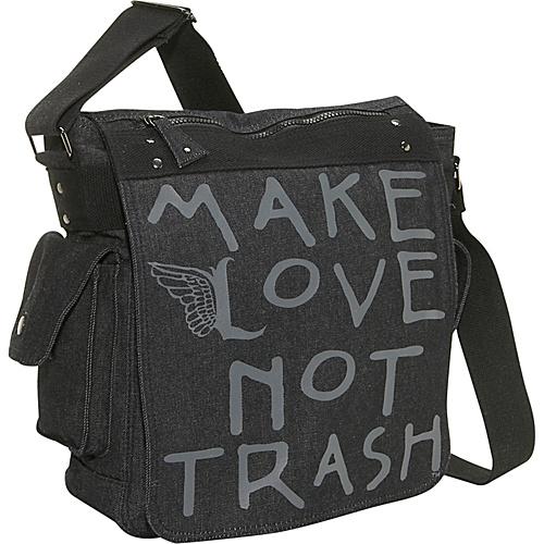 Make Love Not Trash DeeJay Bag - Cross Body