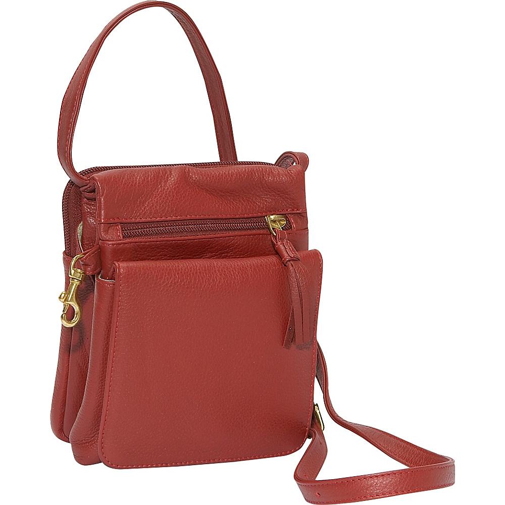 J. P. Ourse Cie. Gizmo Bag Berry Red