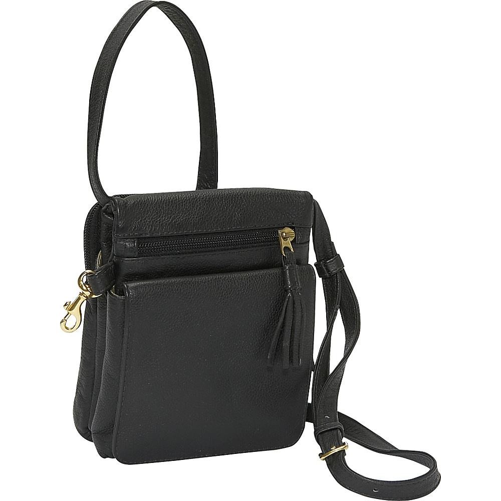 J. P. Ourse & Cie. Gizmo Bag - Black - Handbags, Leather Handbags