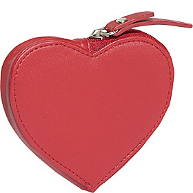 Heart Coin Purse Cl Red