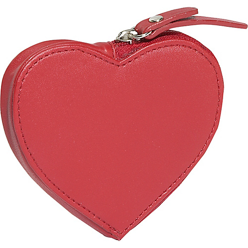 Clava Heart Coin Purse - Cl Red