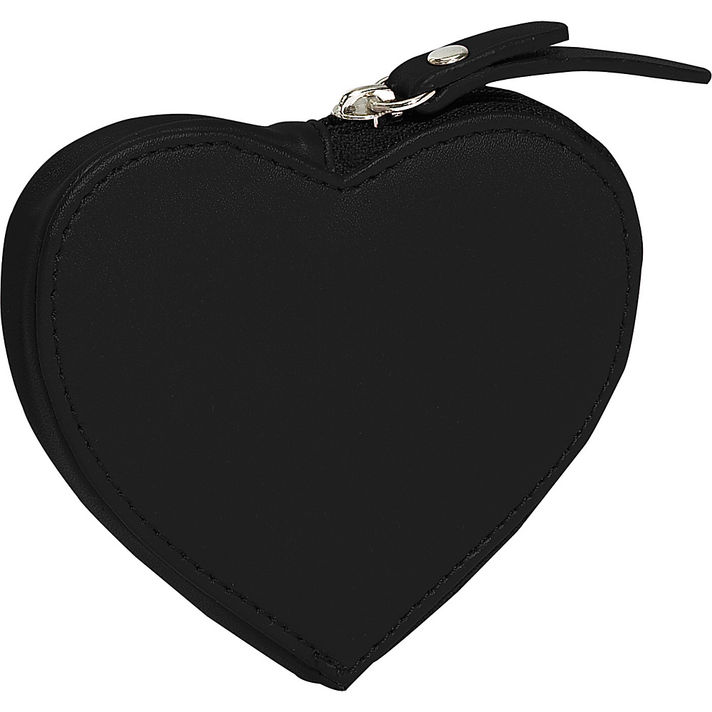 Clava Heart Coin Purse - Cl Black