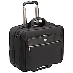 17'' Security Friendly Rolling Laptop Case Black