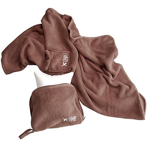 Lug Life Nap Sac Blanket & Pillow - Chocolate