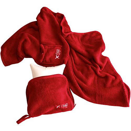 Lug Life Nap Sac Blanket & Pillow - Crimson