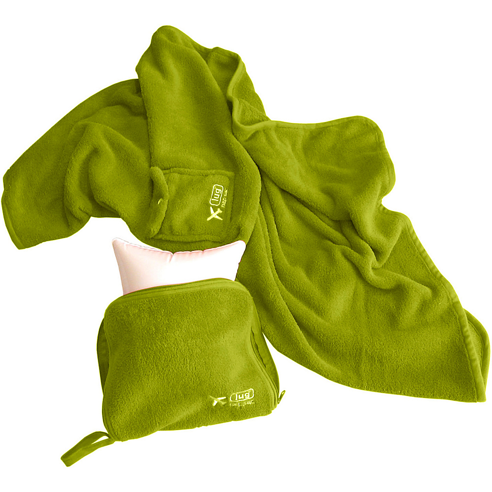 Lug NAP SAC Blanket & Pillow Grass - Lug Travel Pillows & Blankets