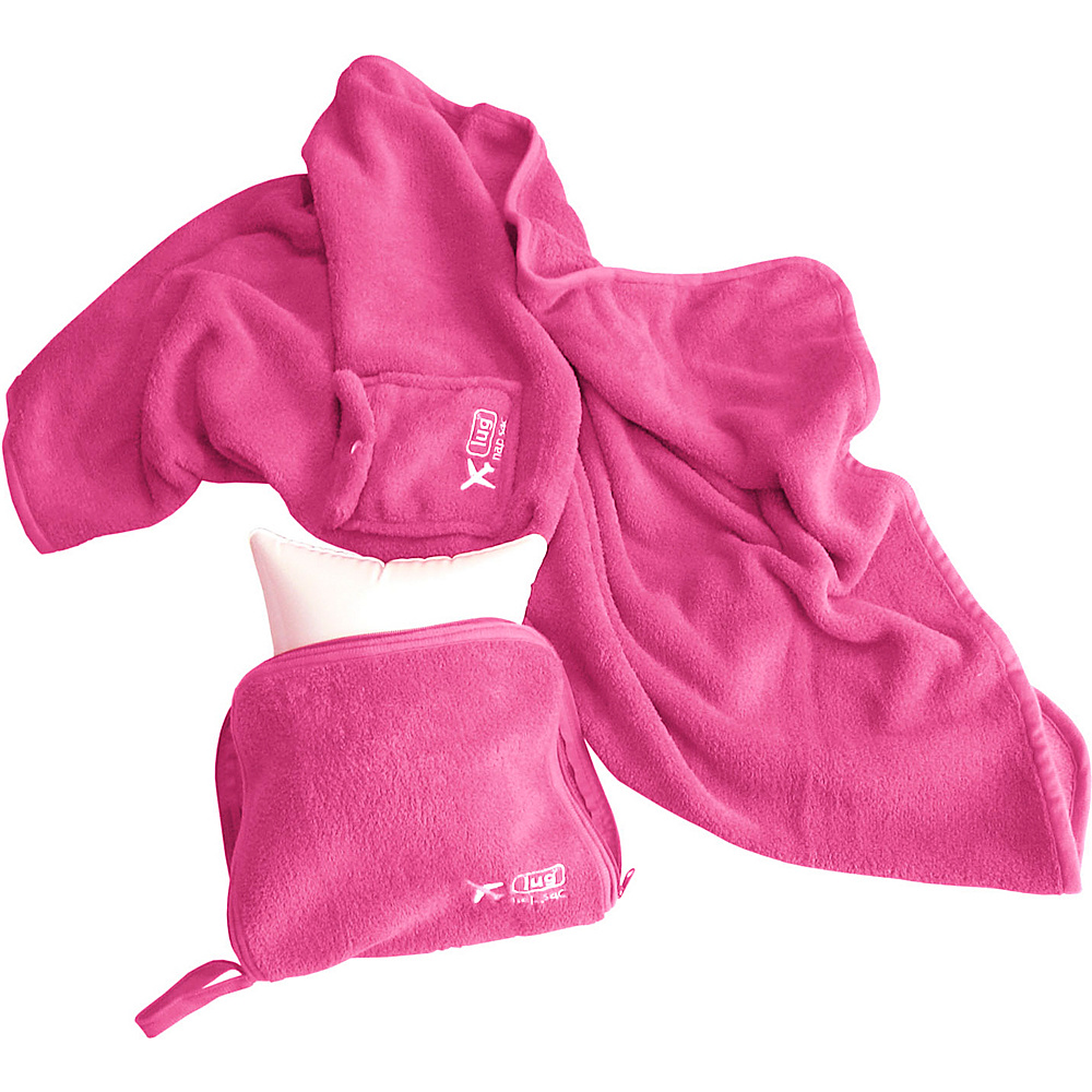Lug NAP SAC Blanket & Pillow Rose - Lug Travel Pillows & Blankets - Travel Accessories, Travel Pillows & Blankets