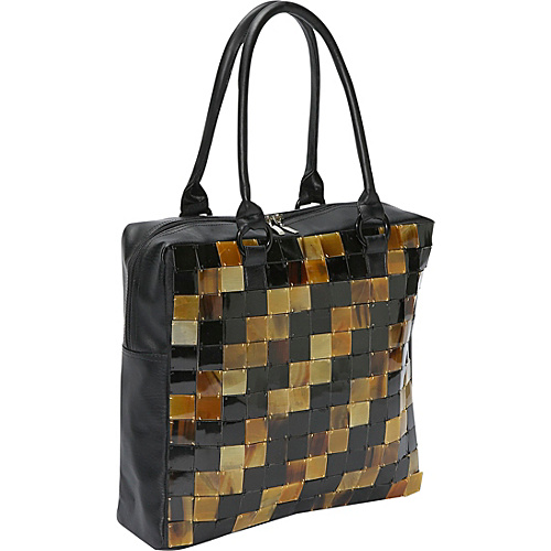 Global Elements Large Buffalo Horn Zig Zag Tote - Tote