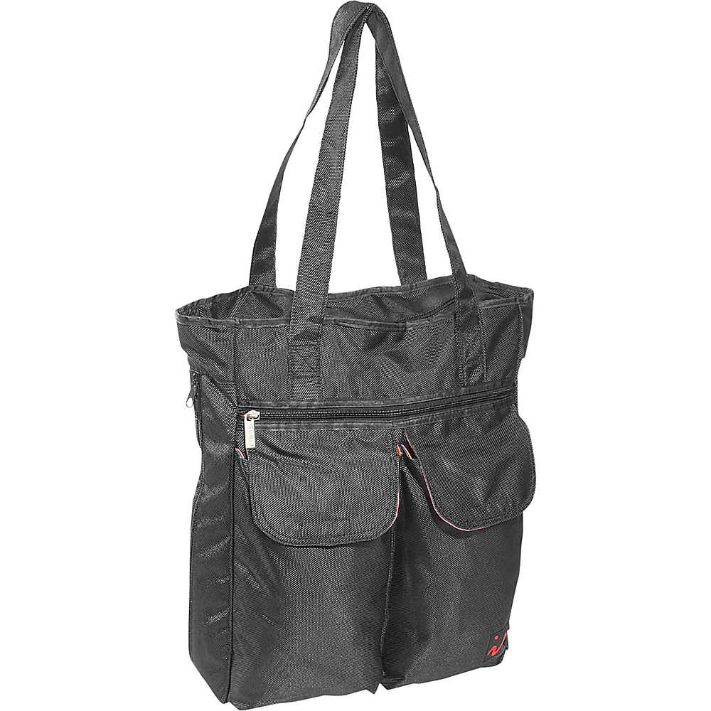 Ice Red UNI Cargo Laptop Tote - Black - Work Bags & Briefcases, Women's Business Bags