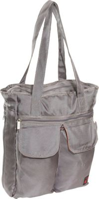 Ice Red UNI Cargo Laptop Tote - Grey