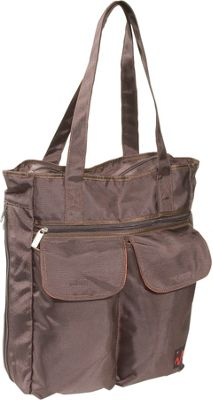 Ice Red UNI Cargo Laptop Tote - Brown