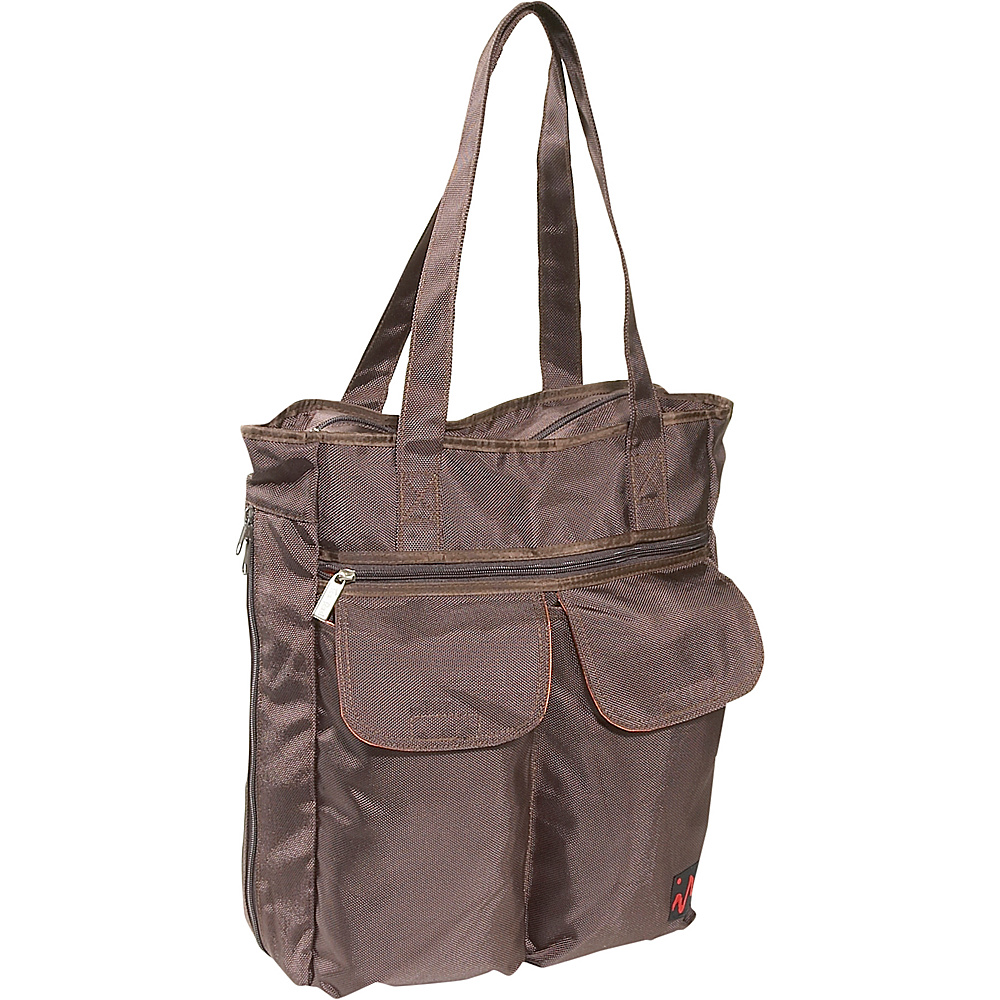 Ice Red UNI Cargo Laptop Tote - Brown - Work Bags & Briefcases, Women's Business Bags