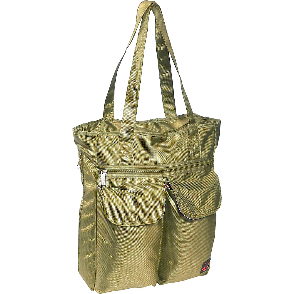 Ice Red UNI Cargo Laptop Tote - Lime - Work Bags & Briefcases, Women's Business Bags