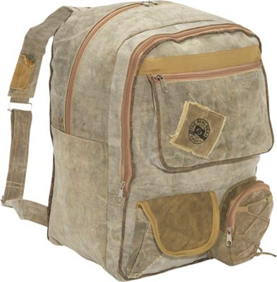 The Real Deal The Real Deal Belem Backpack Canvas - The Real Deal Everyday Backpacks