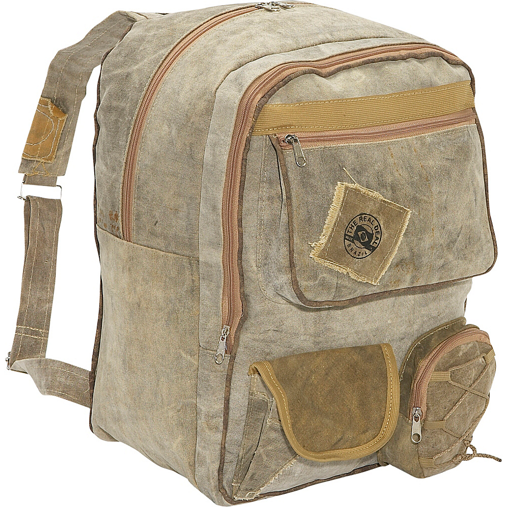 The Real Deal Belem Backpack Canvas - The Real Deal Everyday Backpacks - Backpacks, Everyday Backpacks