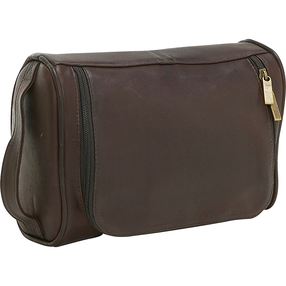 Le Donne Leather Toilietry Bag - Caf - Travel Accessories, Toiletry Kits