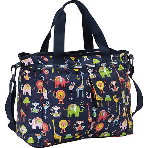 LeSportsac Ryan Baby Diaper Bag Zoo Cute - LeSportsac Diaper Bags