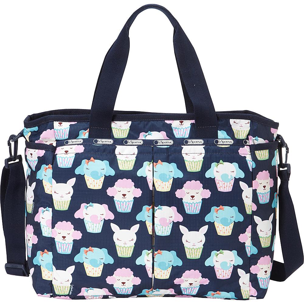 LeSportsac Ryan Baby Diaper Bag Baby Cakes Blue - LeSportsac Diaper Bags