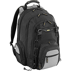 17'' CityGear Laptop Backpack Black