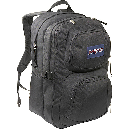 JanSport The Merit - Black - Backpacks, Laptop Backpacks
