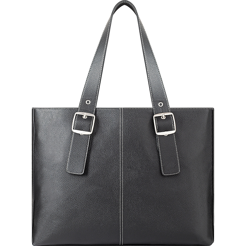 SOLO Classic Laptop Tote - Black - Work Bags & Briefcases, Women's Business Bags