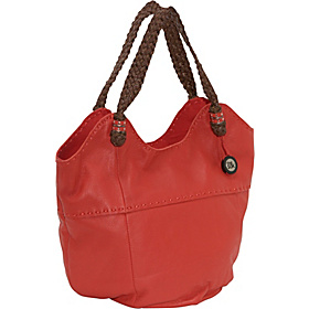 Indio Leather Large Tote Cayenne