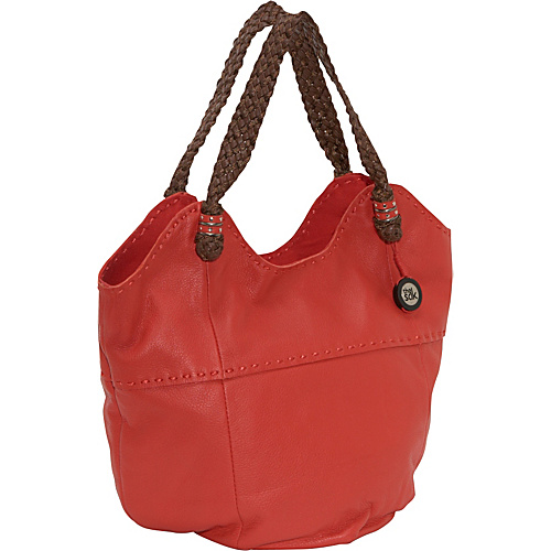 The Sak Indio Leather Large Tote - Cayenne