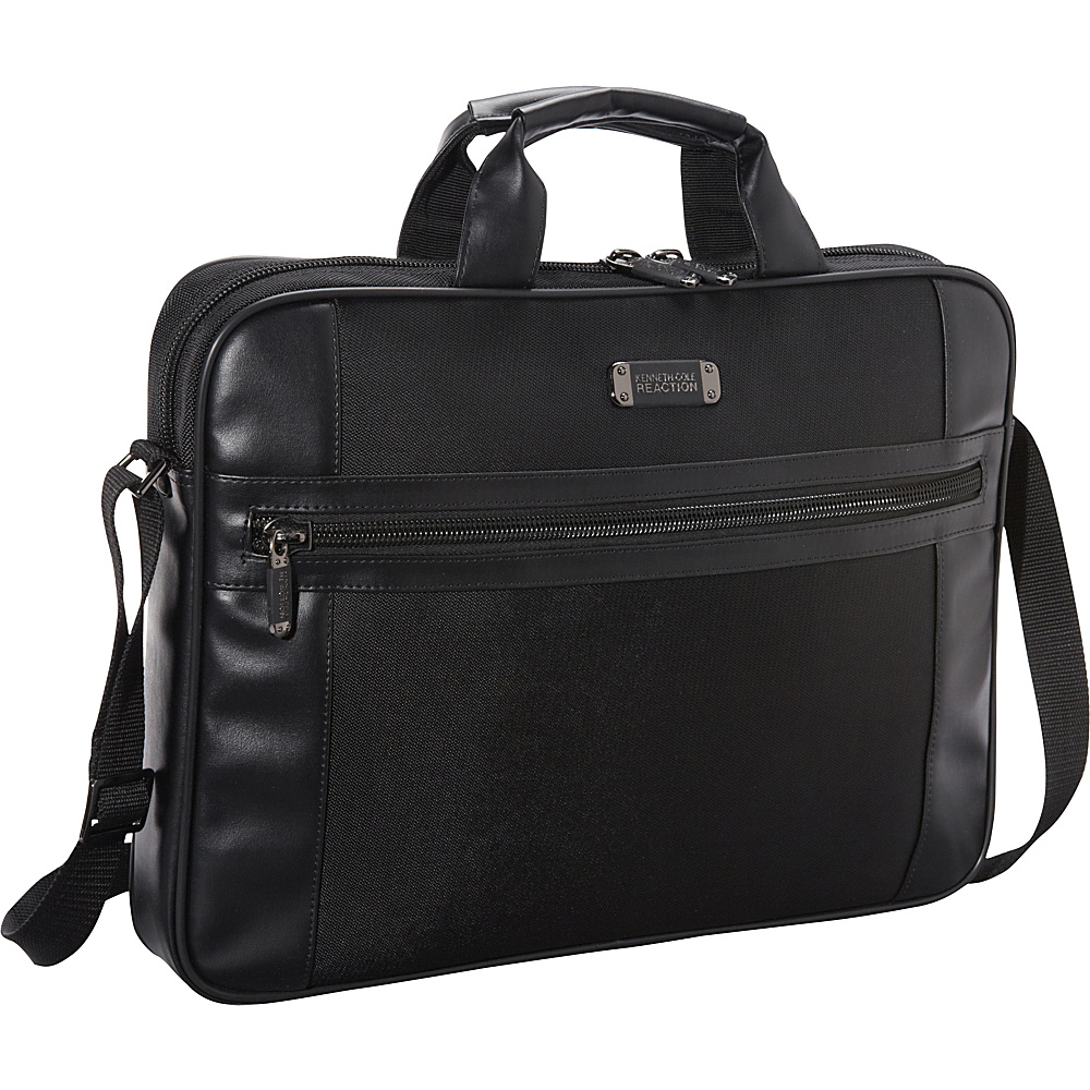 Kenneth Cole Reaction R-Tech Polyester 17 Slim Laptop - Work Bags & Briefcases, Non-Wheeled Business Cases