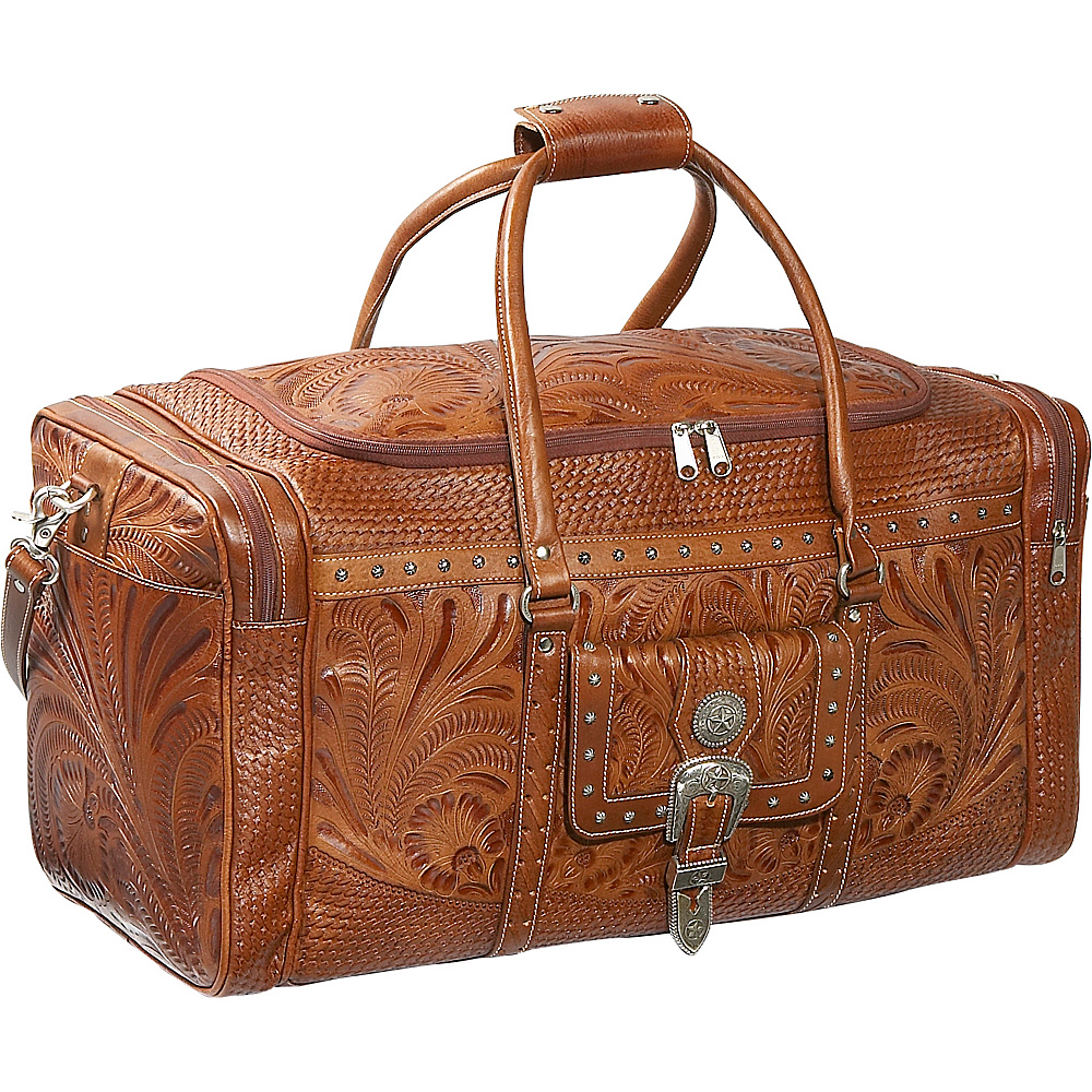 American West Retro Romance Zip Around Rodeo bag - Aged - Duffels, Travel Duffels